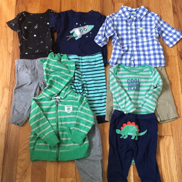 1aba72b03 Carter's Matching Sets | Carters Baby Boy Outfit Bundle 6 Months ...